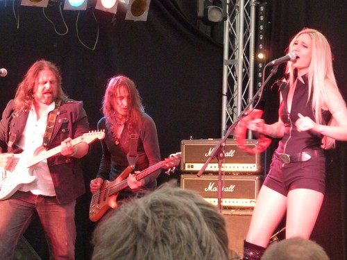 Mostly Autumn live at the Cambridge Rock Festival