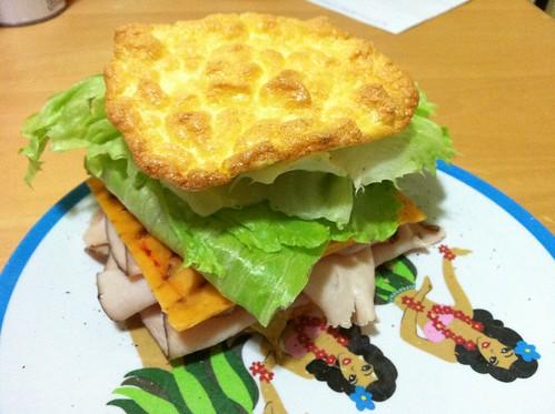 Oopsie roll sandwich