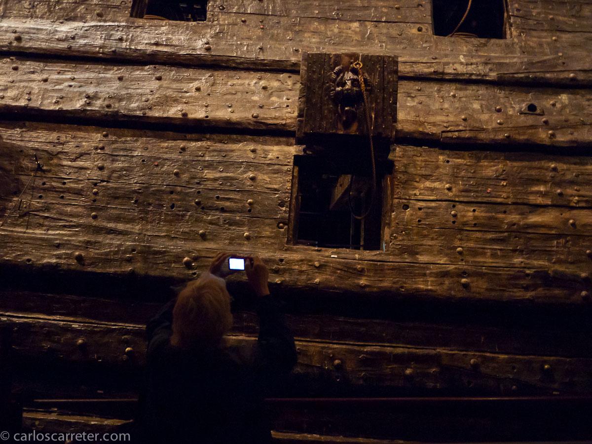Sobraba un puente de piezas de artillería en el Vasa