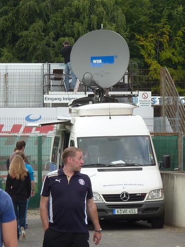 Regionalliga: Das Fernsehen ist wieder zu Gast