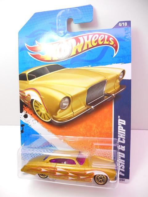 hot wheels fish'd & chip'd gold (1)