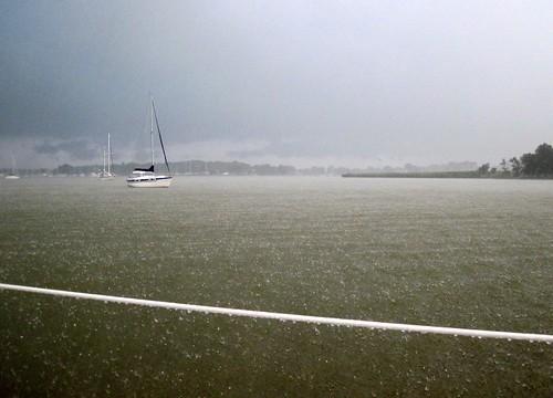 Storm in Swan Creek