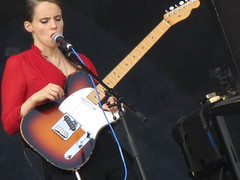 Anna Calvi live at Frequency Festival
