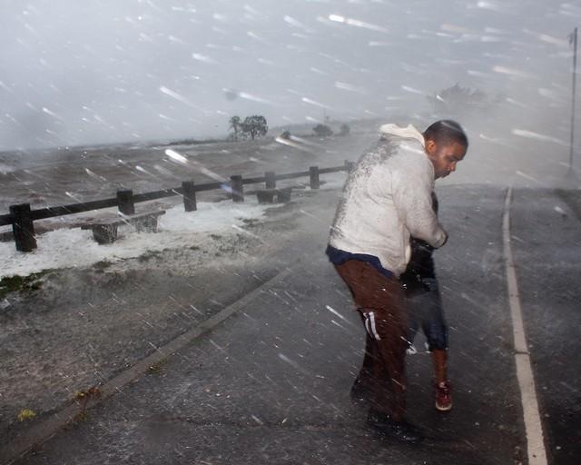 Hurricane Irene's Gentle Caress
