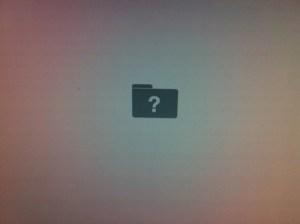 Hallo Apple Fans. Kann mir jemand sagen was diese Meldung beim Starten eines Macs bedeutet?