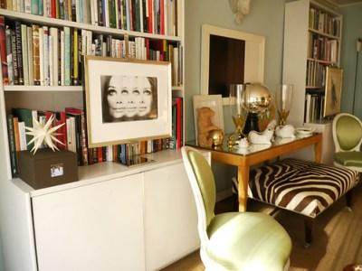 James Andrew living room light blue