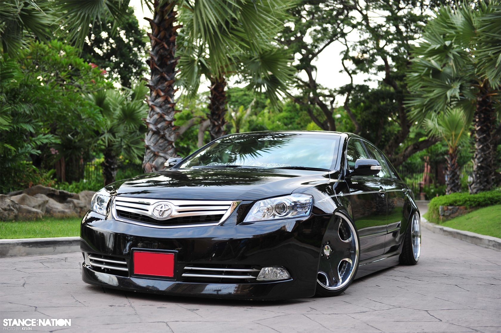 all new toyota camry thailand grand avanza 1.3 e std slammed vip style camry! | stancenation™ // form > function