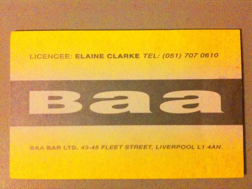Love this old business card design