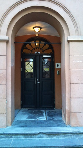Entrance by Mostraum