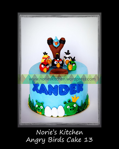 Angry Birds Cake 13 by Norie's Kitchen