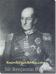 Sir Benjamin D'Urban