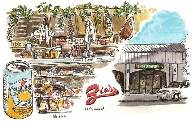 zia's deli, downtown davis