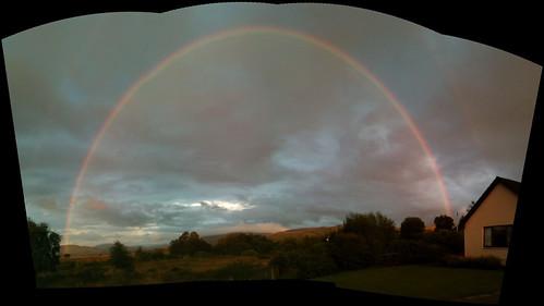 Rainbow over Loch Shiel by BrianPaget