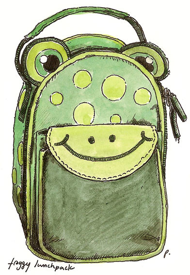 froggy lunchpack