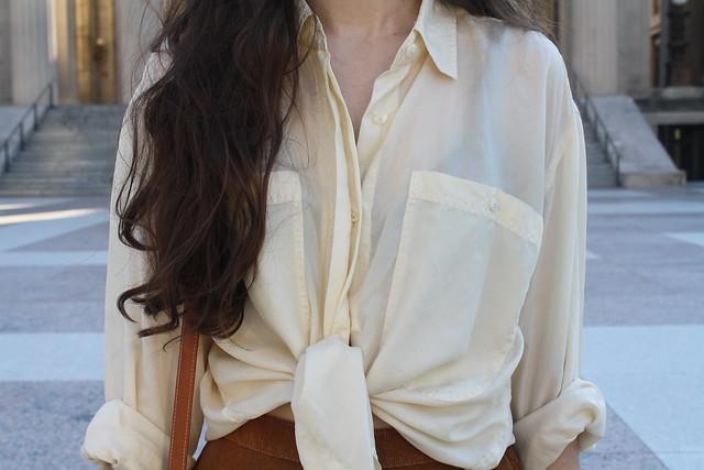 corduroy and silk
