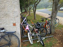 Crozet Elementary bike rack