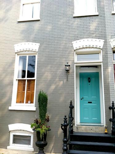 Blue paint color for front door