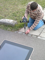 Recording with the iSpace system and an iPad