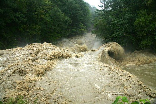 Vermont's Williams River Raging