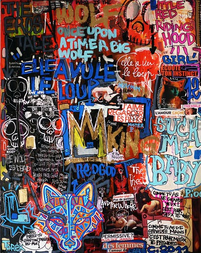 Elle A Vu Le Loup : Graffiti, Street