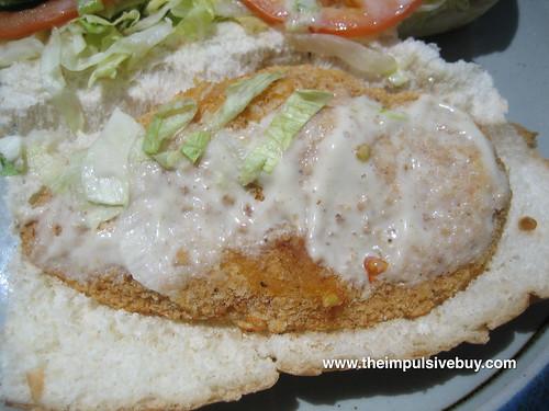 Subway Oven Crisp Chicken Sub Innards