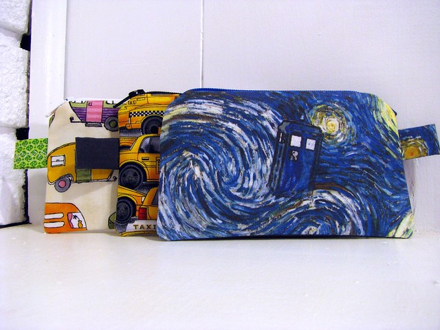 Dr. Who Zipper Pouch