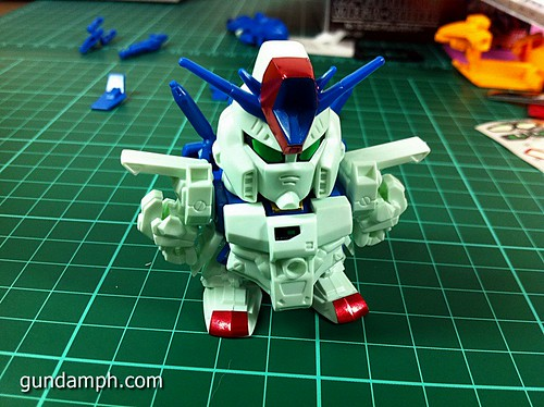 SD ZZ Gundam with Mega Rider (26)