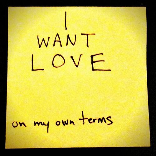 I want love by creativentrue