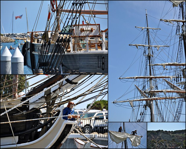 Sailing Ship at Dana Point Harbor