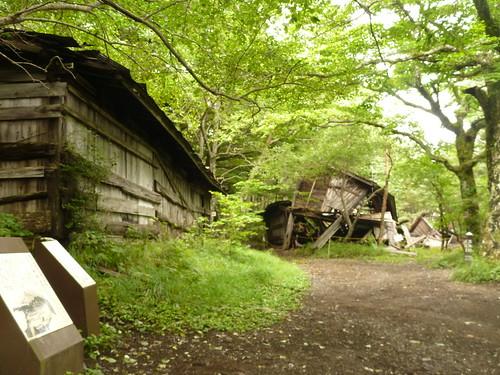 吉田口登山道三合目 三軒茶屋, 一合目から富士山に登る Climbing Mt.fuji, from the starting point of Yoshidaguchi Climb Trail