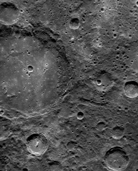 Mercury's Moon-Like Surface Scorched by the Sun
