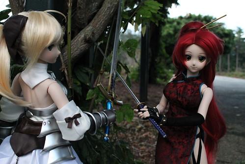 Saber Lily vs Yoko (alpha)