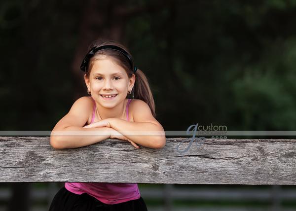 Ashburn child portrait