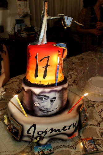 Salvador Dali Cake