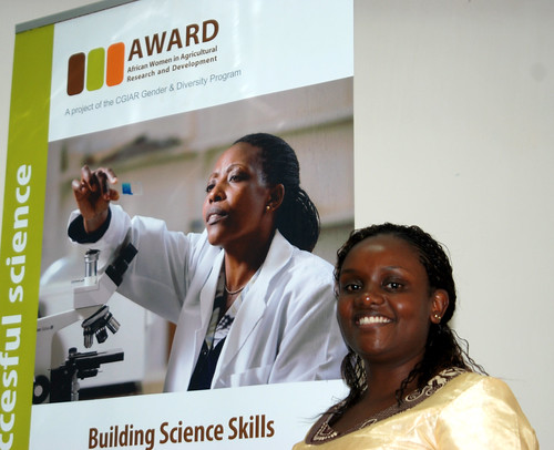 Announcement of AWARD Fellowship winners of 2011: Nairobi