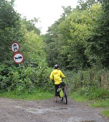 13. Warning - Do Not Drive Horse Drawn Carriages on this Footpath