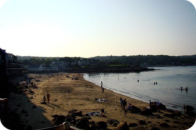 La plage de Rockport