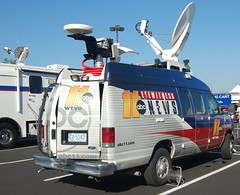 WTVD News Vehicle
