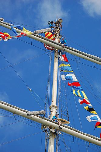 up aloft