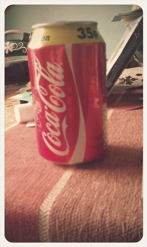 Normally i drink diet - this is my first can of fat cola in years I think