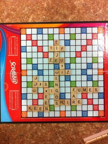 Bilingual Scrabble