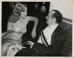 Marilyn Monroe and Groucho Marx, 1949