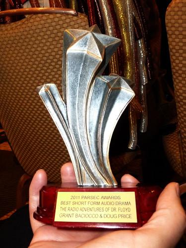 Parsec Awards - Grant's Parsec for Doctor Floyd