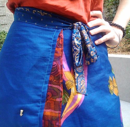 Skirt - detail