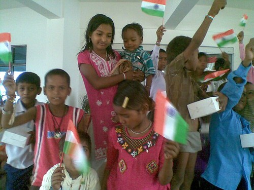Small Acts, Big difference - Independence day 2011 @ Society for Empowering Education, IWSB by Vasu..