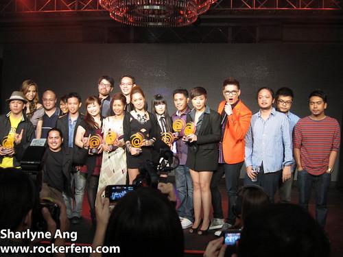 Winners of Globe Tatt Awards