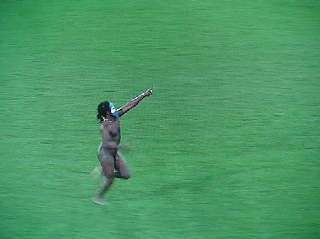 Rugby World Cup Streaker