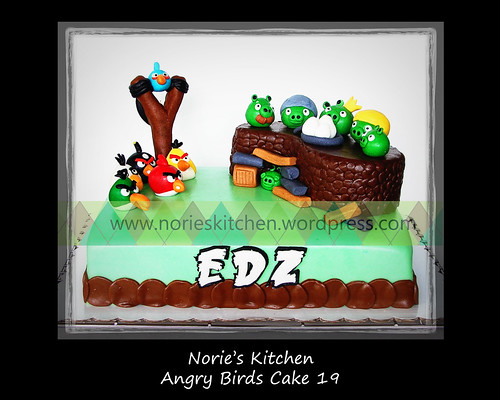 Norie's Kitchen - Angry Birds Cake 19 by Norie's Kitchen