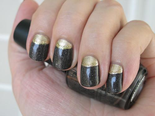 Half-moon manicure (2)