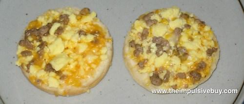 Pillsbury Sausage & Cheese Grands! Biscuit Sandwiches Closeup 2